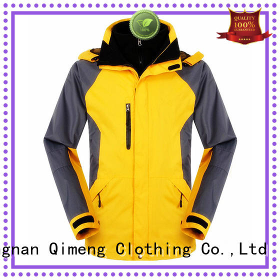 softshell waterproof softshell jacket in different color for outdoor activities QiMeng