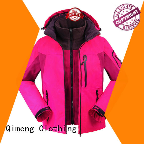 quality hoody jacket waterproof with many colors in winter
