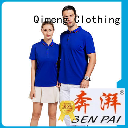 polo sport t shirts golf for business meetings QiMeng