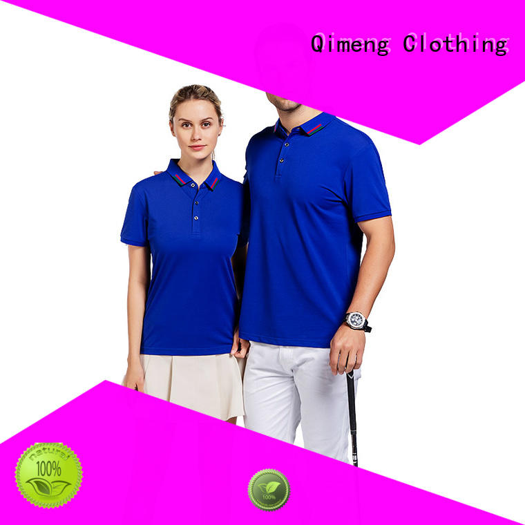 polo sport shirts directly for promotional campaigns QiMeng