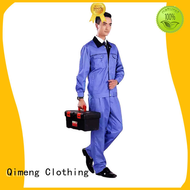 QiMeng latest-arrival work uniform price for outdoor activities