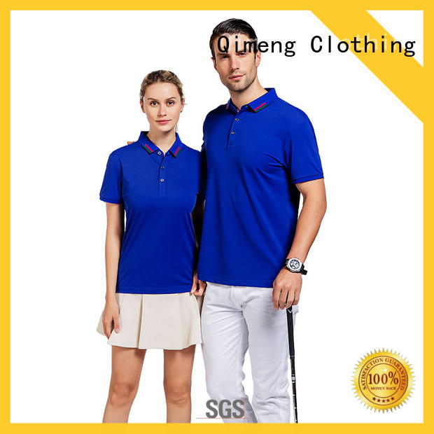QiMeng modern cotton polo shirts women  for leisure travel