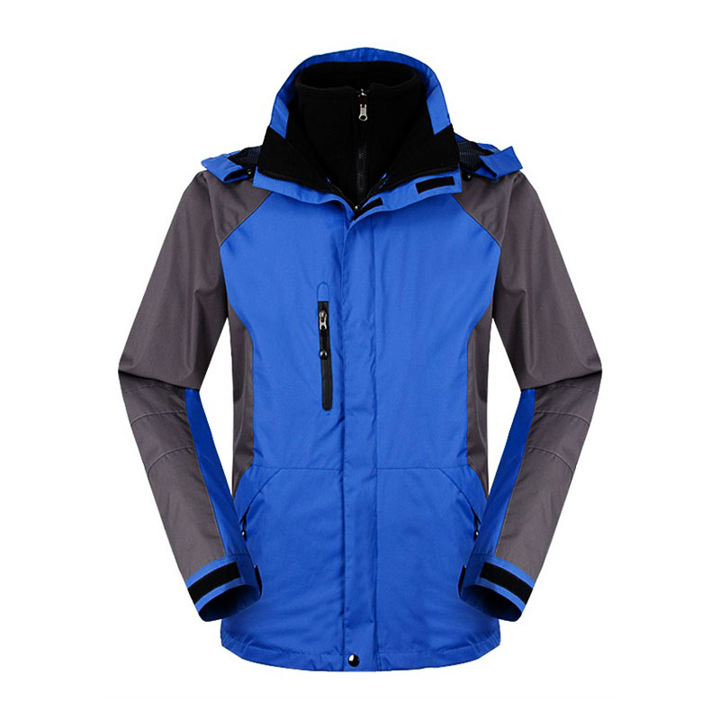 hiking jacket oem zipper design for daily wear-2