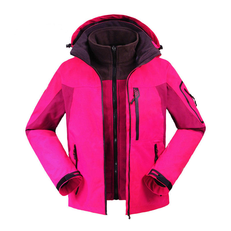High performance waterproof breathable softshell jacket