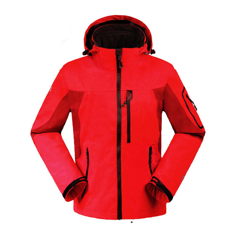 High performance waterproof breathable softshell jacket