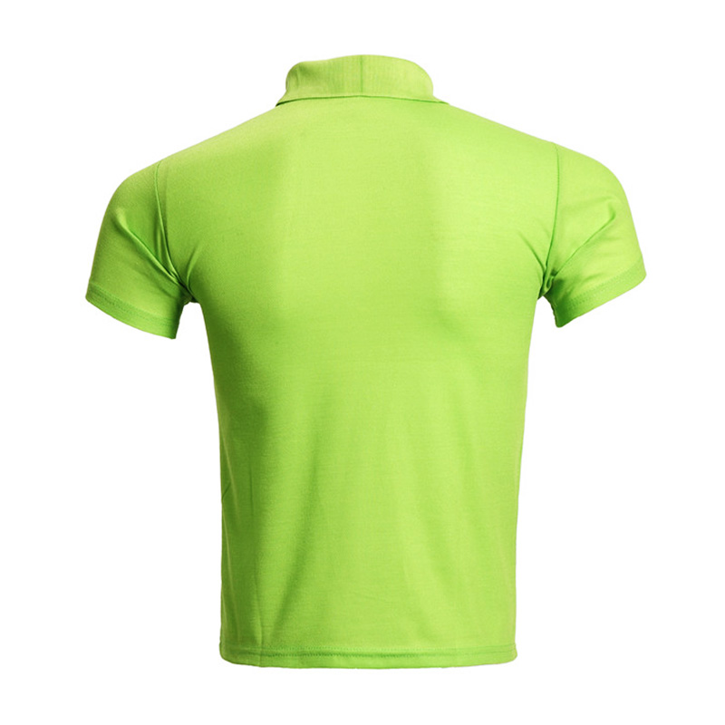 inexpensive polyester polo t shirts mens  supply  for business meetings-3