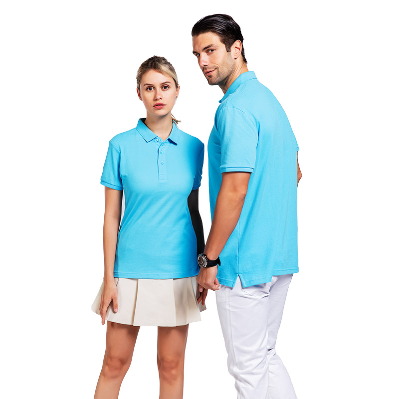 QiMeng sleeve polo design shirt with many colors  for leisure travel-1