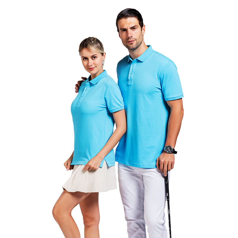 QiMeng sleeve polo design shirt with many colors  for leisure travel-2