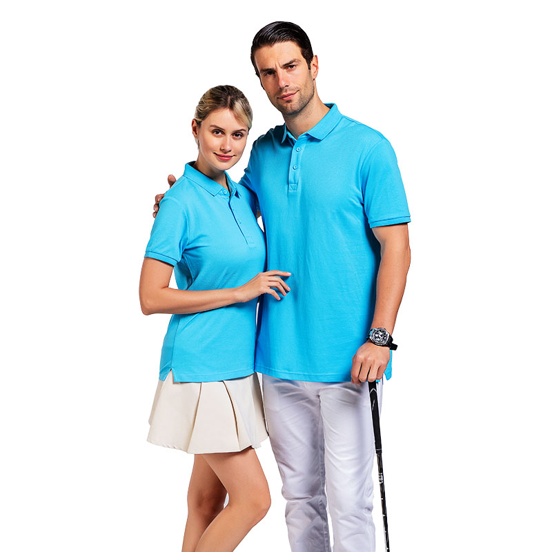QiMeng sleeve polo design shirt with many colors  for leisure travel-3