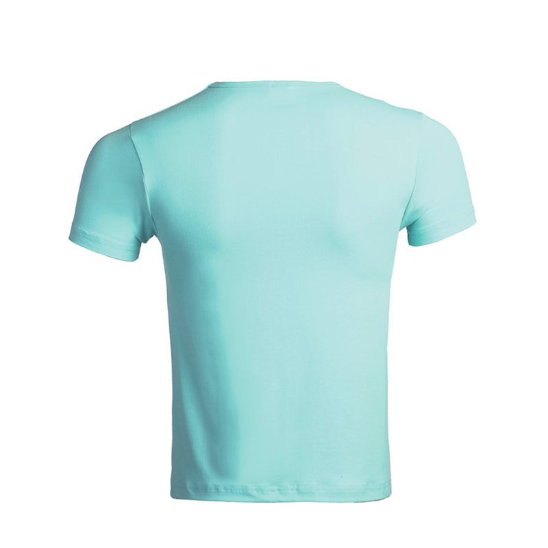 QiMeng organic t shirts free samples price-2