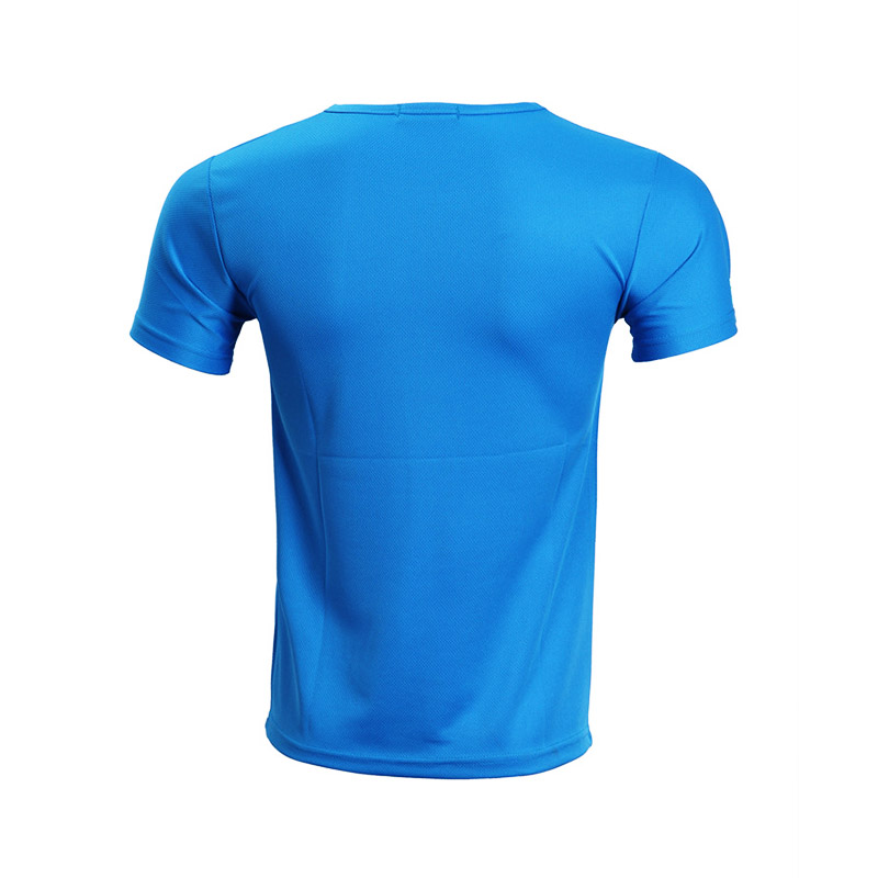 QiMeng white wholesale t shirt printing in different color-2