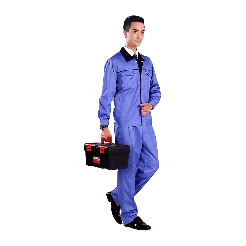 long work uniform design uniform for team-work QiMeng-1