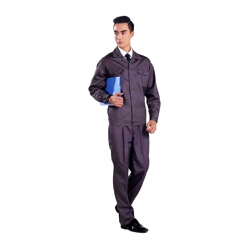 Factory construction industrial long sleeve safety worker and labor workwear