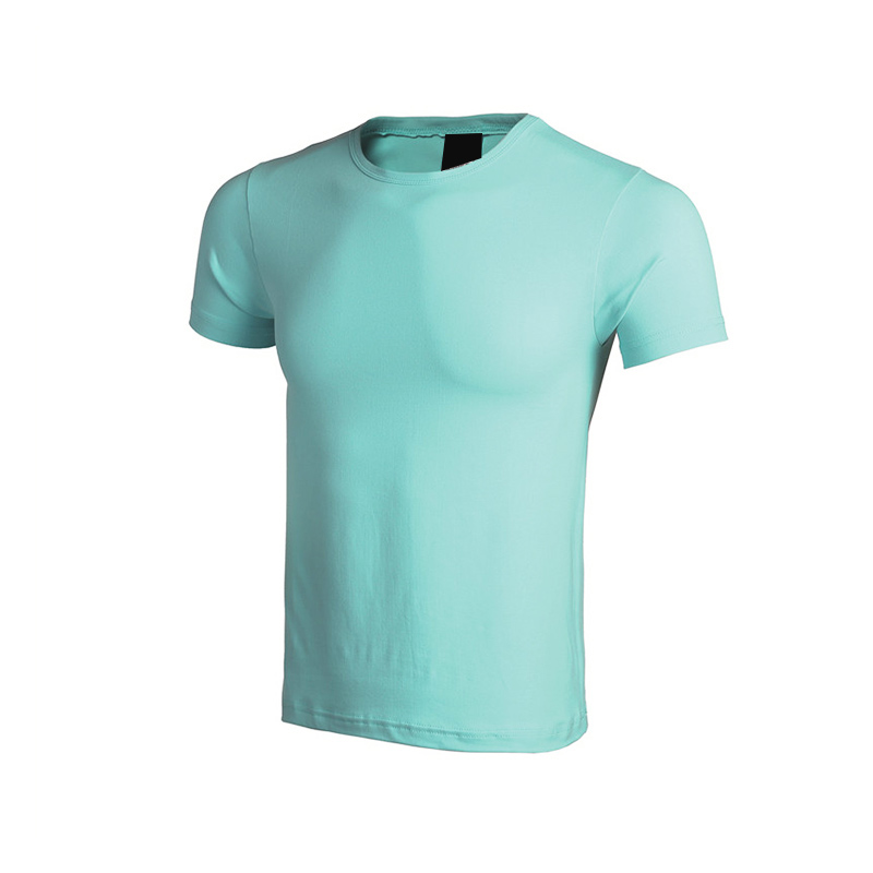QiMeng organic t shirts free samples price-3