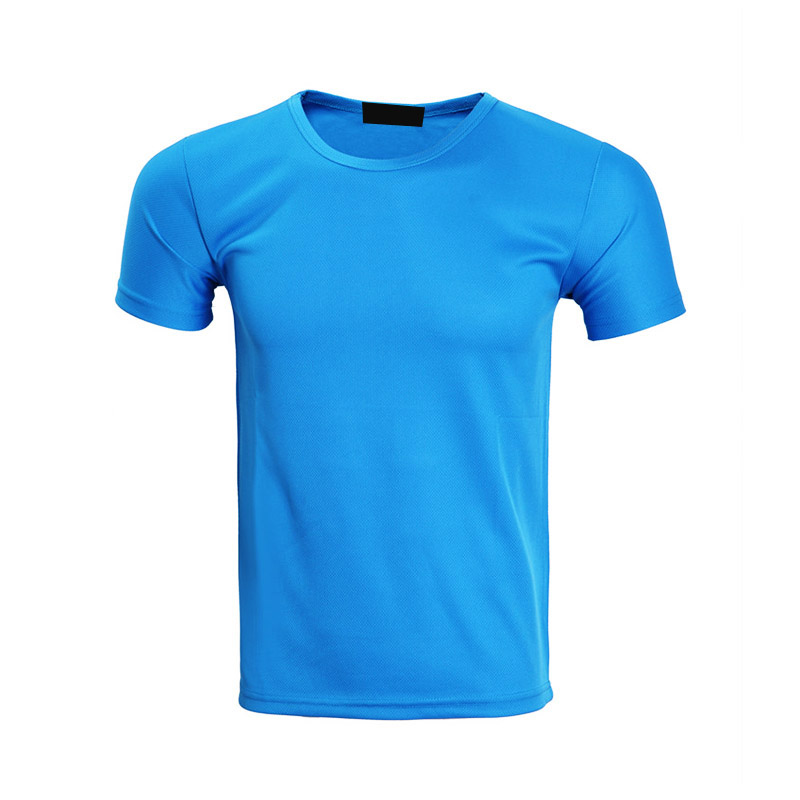 QiMeng white wholesale t shirt printing in different color-1