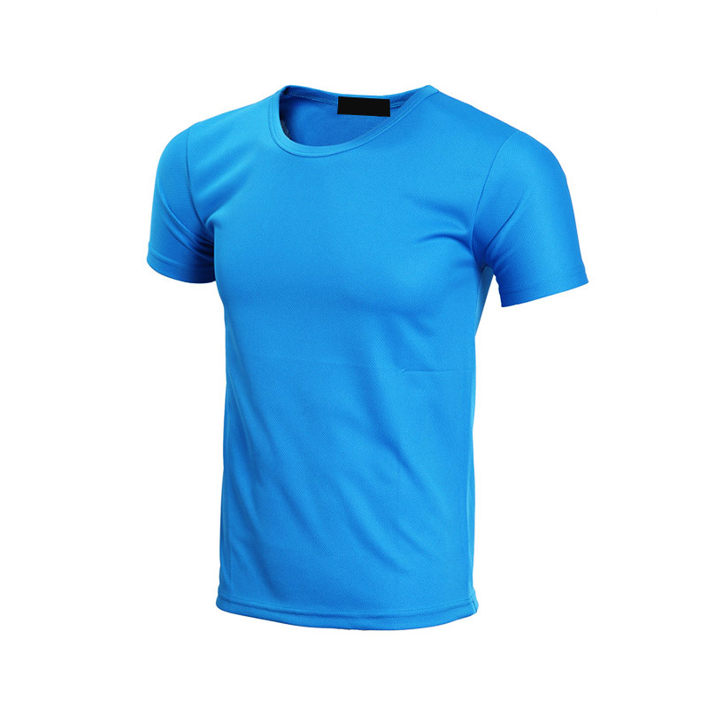 QiMeng white wholesale t shirt printing in different color-3