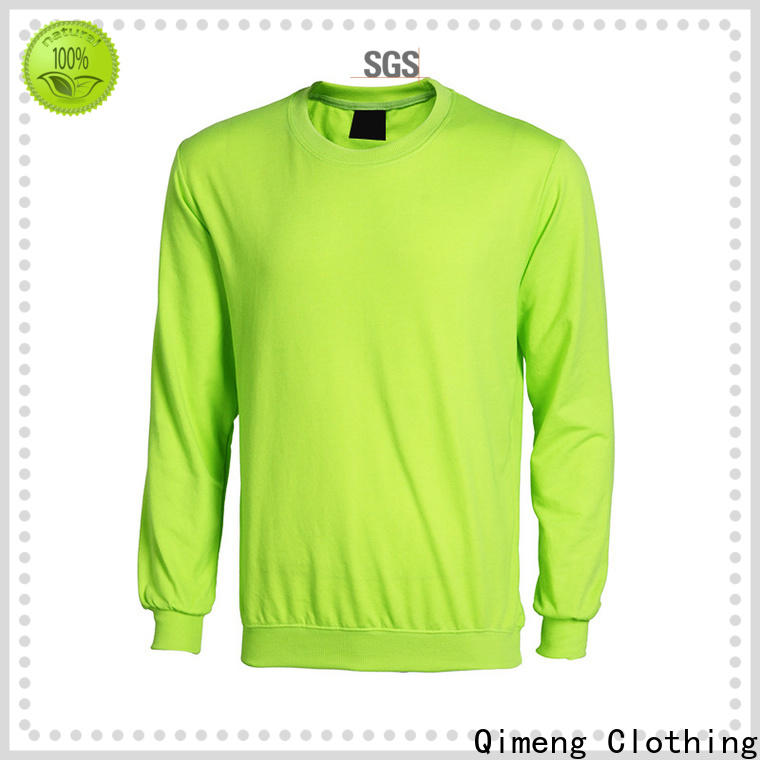 QiMeng popular plain hoodies factory price