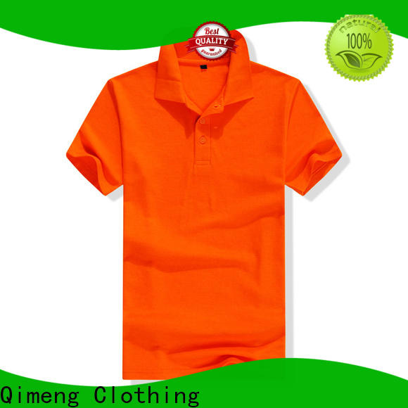 QiMeng hot-selling men golf polo shirt producer for team-work
