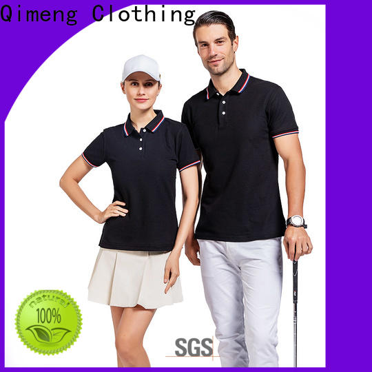 QiMeng polyester personalized polo shirts supply for promotional campaigns