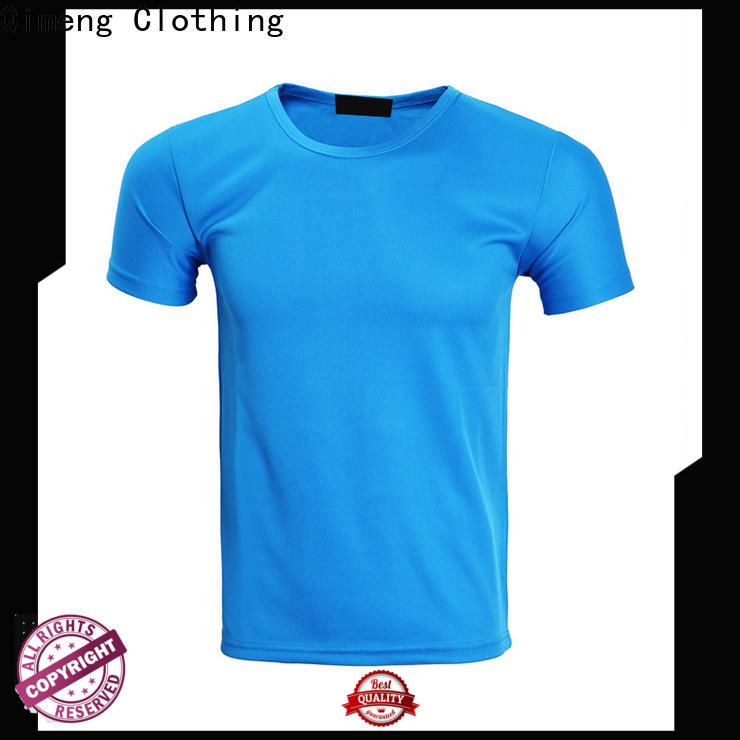 QiMeng shirt custom printed t shirts for promotional campaigns