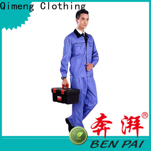 QiMeng quality work wear uniform price in school