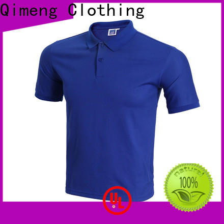 QiMeng best ladies polo t shirts button design for team-work