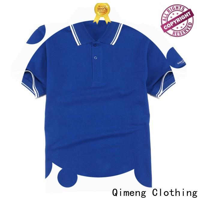 QiMeng first-rate wholesale polo shirts manufacturer for promotional campaigns