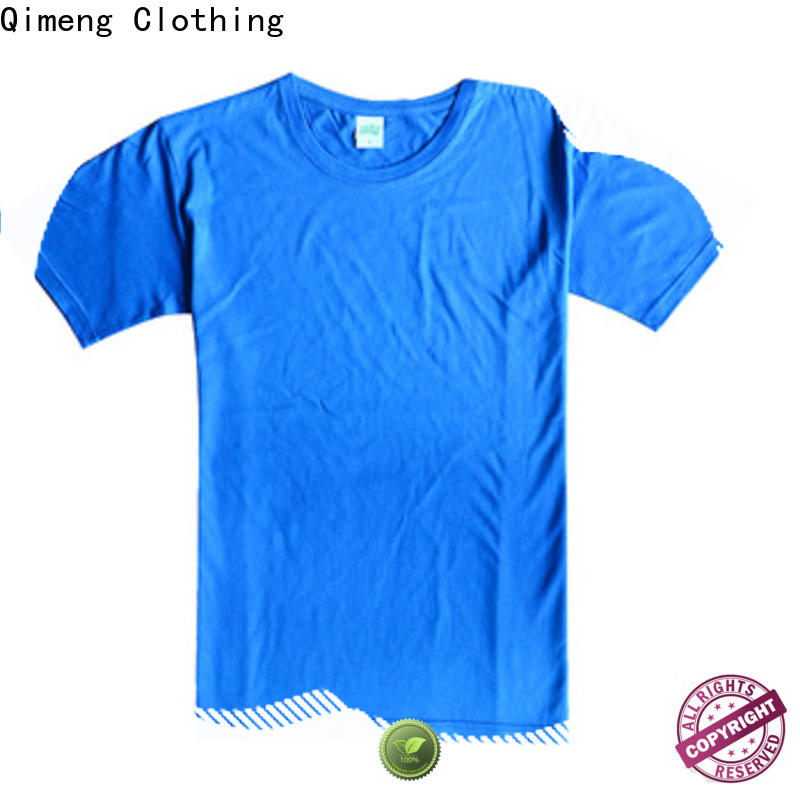 QiMeng outdoor blank t shirts for printing for-sale for team-work