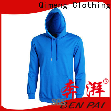 QiMeng plain sweatshirts hoodies owner for promotional campaigns