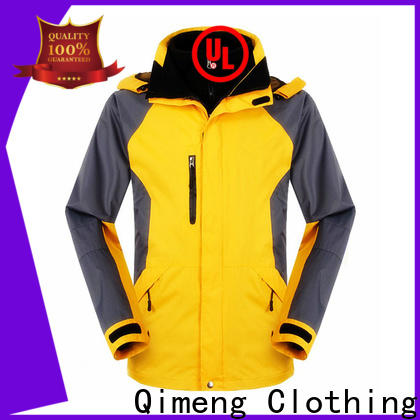 hiking jacket oem zipper design for daily wear