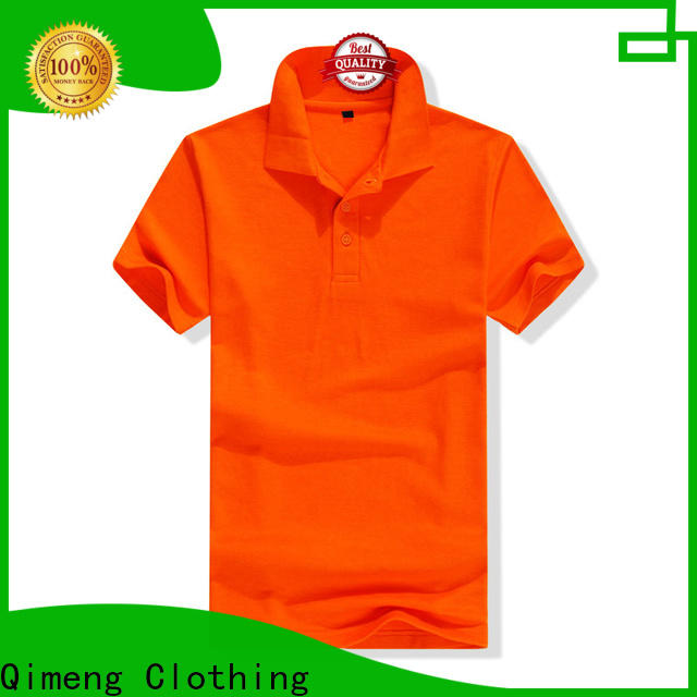 QiMeng 100%cotton cotton polo shirts women from China for daily wear