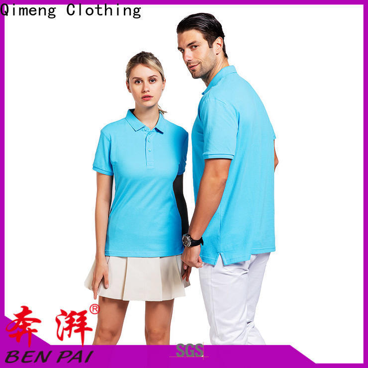 QiMeng tshirt men golf polo shirt supply for outdoor activities