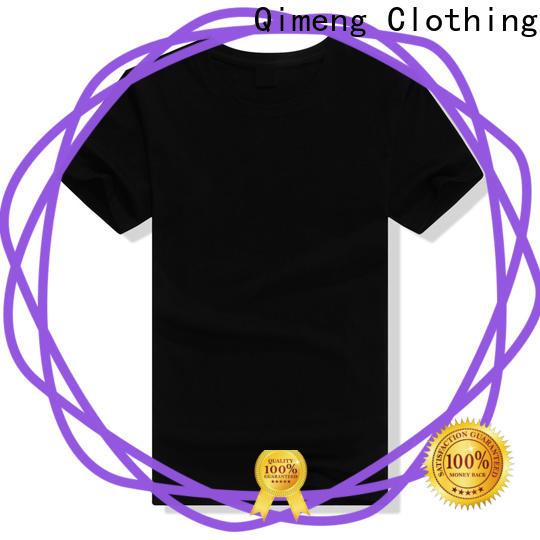 QiMeng plain custom tee shirts price