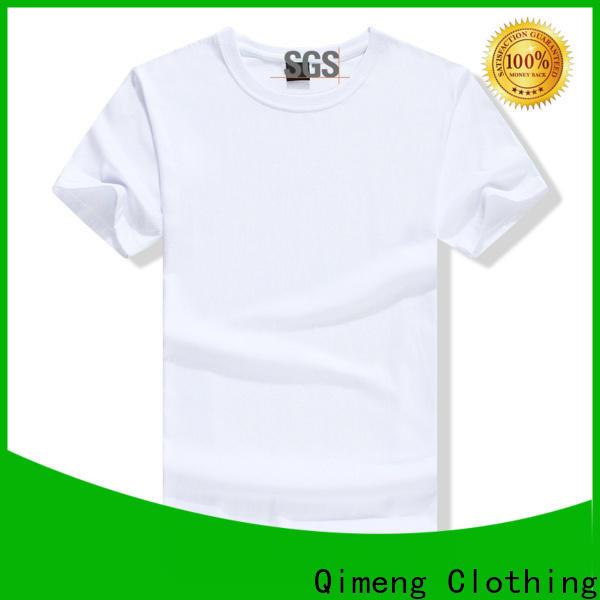 QiMeng soft custom t-shirt on sale in street