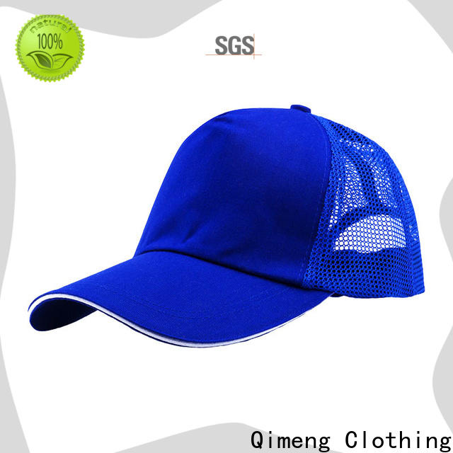 QiMeng popular ponytail baseball cap with many colors in work room