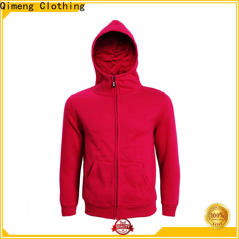 QiMeng new-selling couple hoodies directly sale for outdoor activities