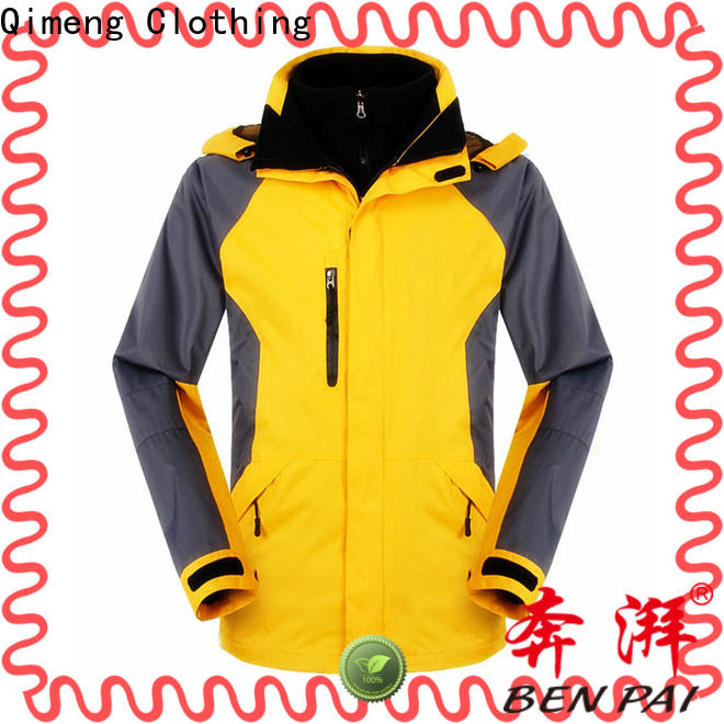 QiMeng performance men jacket wholesale wholesale for campaigns
