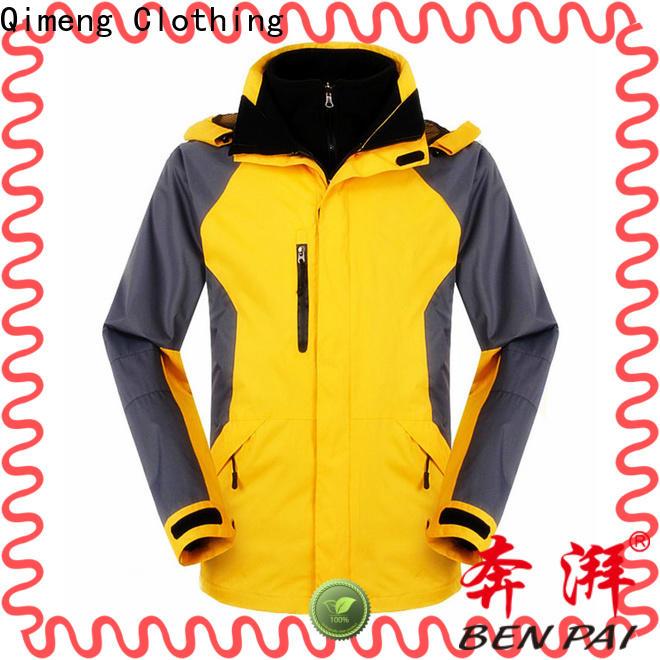QiMeng performance men jacket wholesale wholesale for campaigns