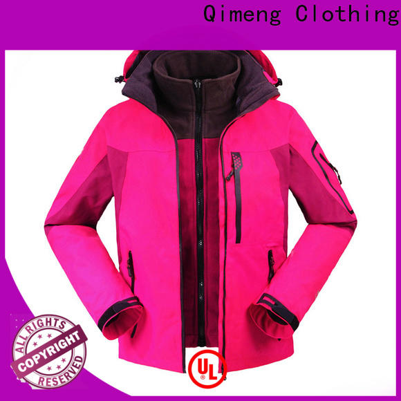 QiMeng promotional fashion jacket for women from China for outdoor activities
