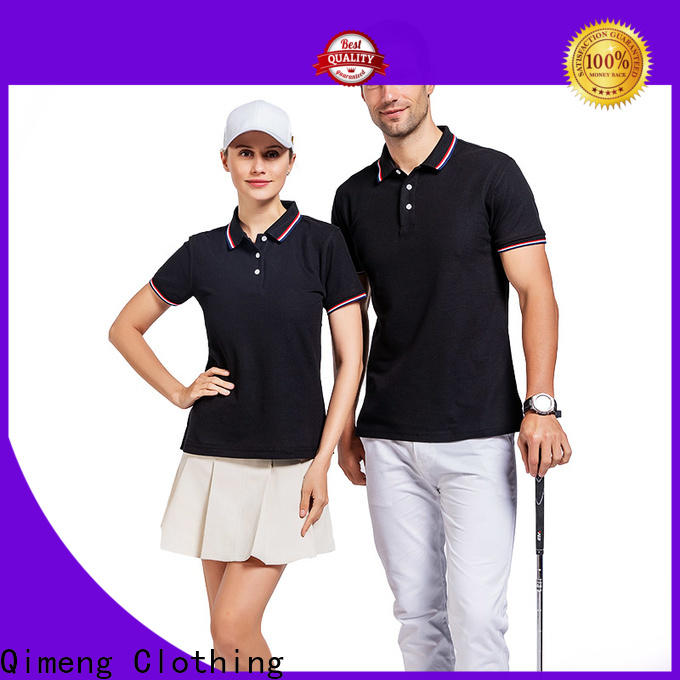 QiMeng golf polyester polo t shirts producer for promotional campaigns