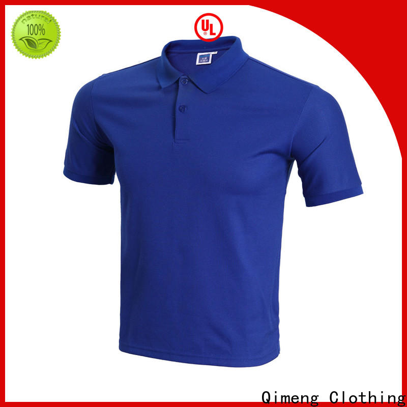 QiMeng promotional yellow polo t shirts factory  for business meetings