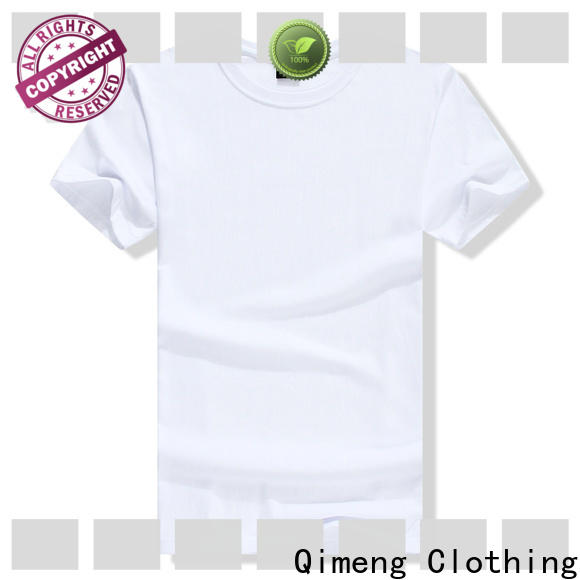 QiMeng quality tee shirts custom print in China for sporting