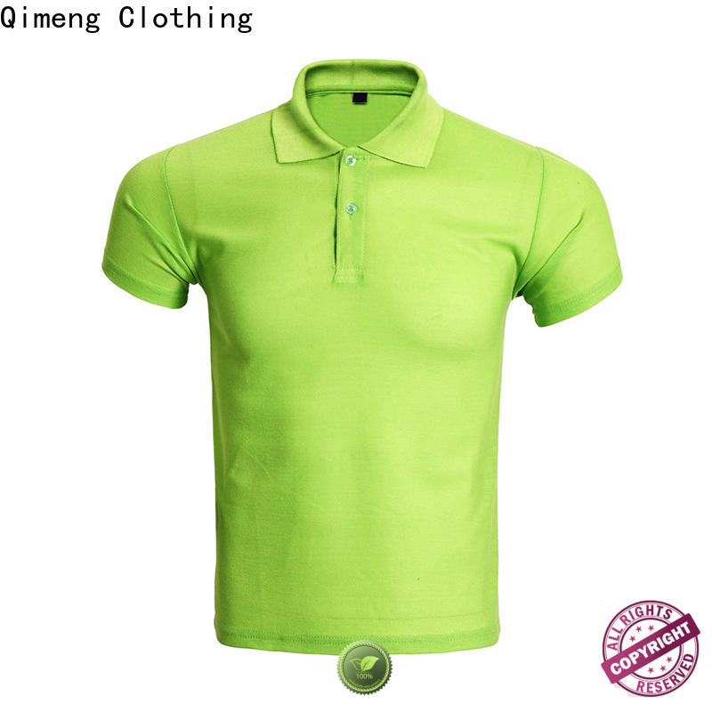 QiMeng best cotton polo shirts women from China  for leisure travel