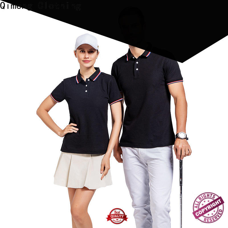 QiMeng modern polo sport shirts with many colors for promotional campaigns