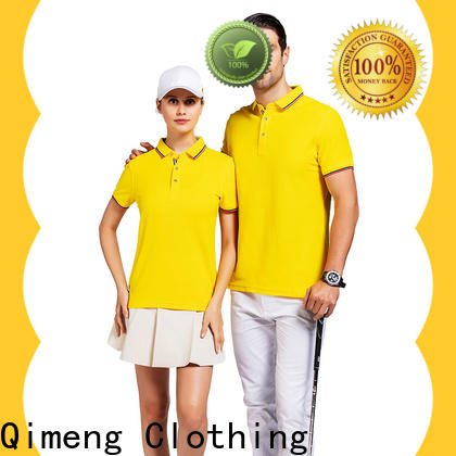 QiMeng sport cotton polo shirts women supply for business meetings