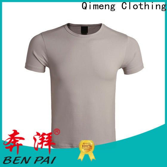 QiMeng printing wholesale t shirts on sale for team-work