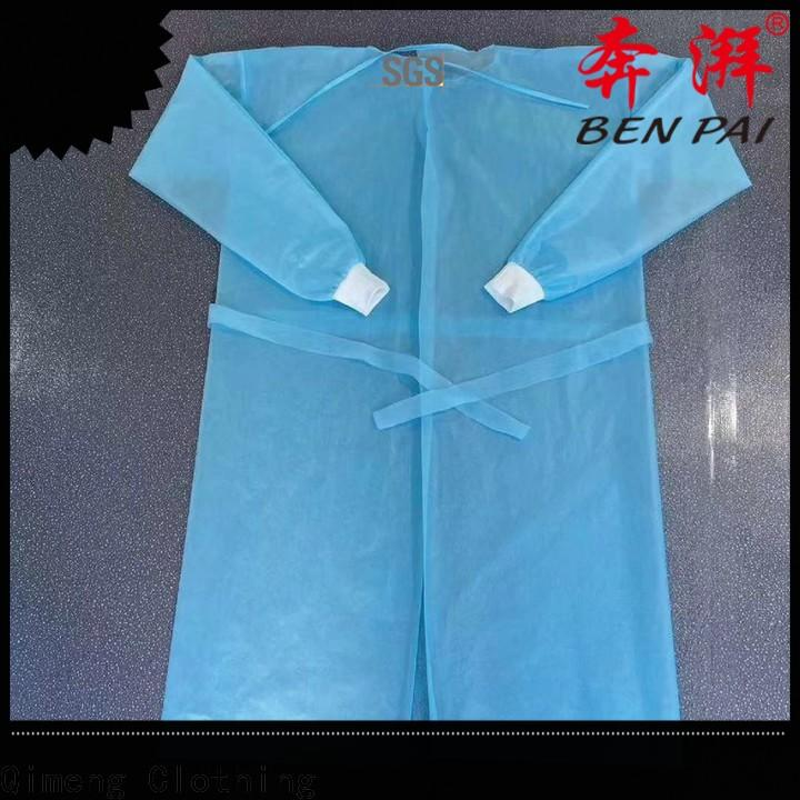 QiMeng quality disposable medical gowns in different color for daily wear