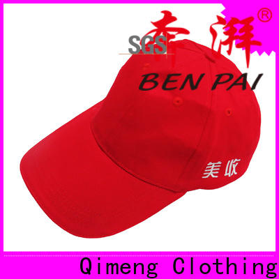 QiMeng outdoor ponytail baseball cap directly sale for sports