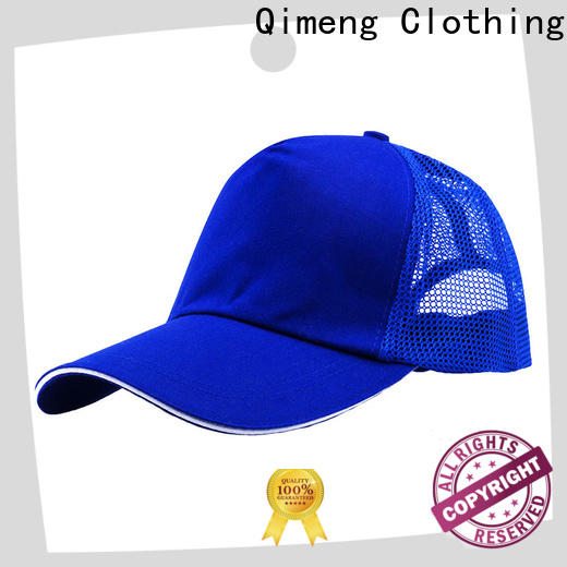 QiMeng hot-selling cap hat with many colors for sporting