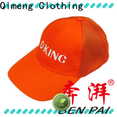 QiMeng sport cap hat directly sale in work room